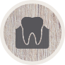 Animated teeth and gums icon